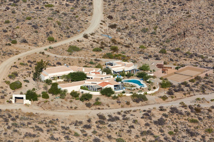 Patricia Gucci's House:  A $9 Million Compound in the Middle of Nowhere