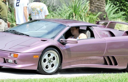 Mark Wahlberg's Car:  A Flashy Reminder of the Actor's Colorful Past