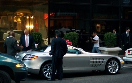 Donald Trump's Car:  Look At Me!  Look At Me!