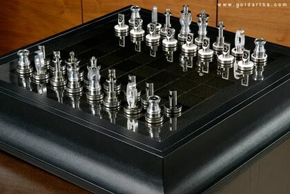 Renault F1 Team Collection Chess Set