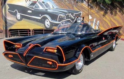Batman's Car:  Quick Robin!  To the Auction House!