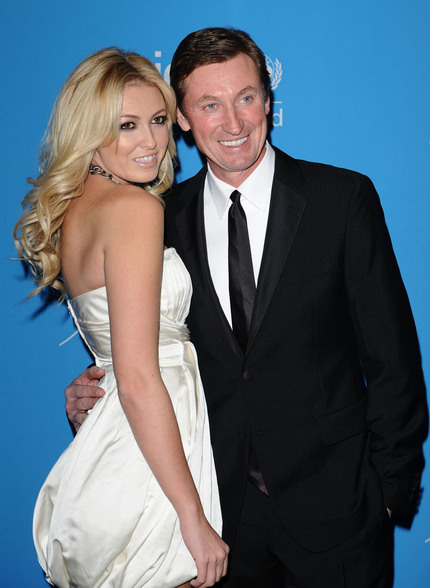 Paulina and Wayne Gretzky