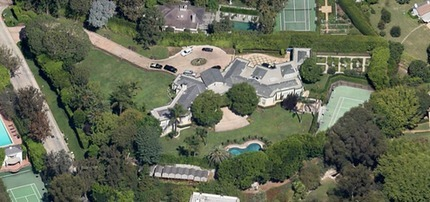 Casey Kasem's House:  Selling the Mansion His Voice Built