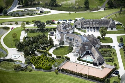 Kim Dotcom's $25 Million Mansion