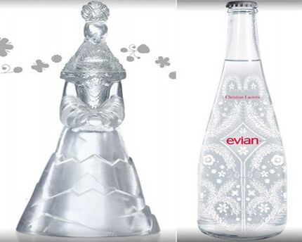 The 10 most expensive bottled waters celebrity net worth - Evian christian lacroix ...