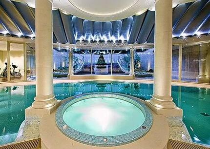Lev Leviev's Indoor Pool