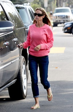 Denise Richards' Car:  Post-Charlie Sheen, You Deserve All the Luxury You Can Get