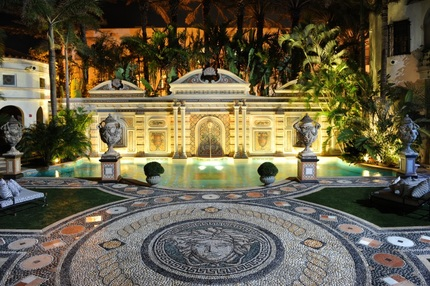 Gianni Versace's $125 Million Miami Mansion - Headed For The Auction Block