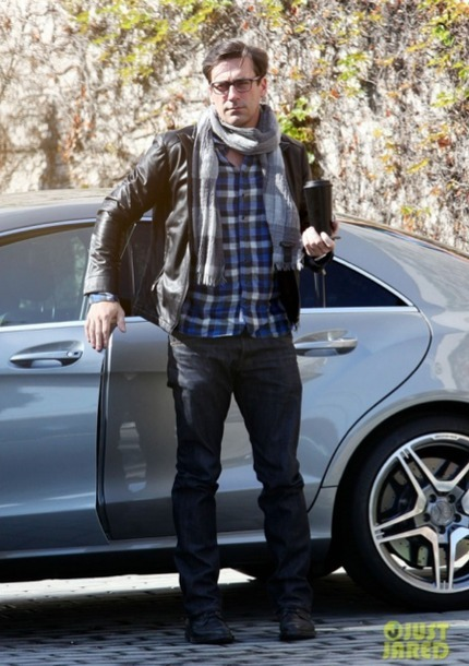 photo of Jon Hamm Mercedes-Benz CLS - car