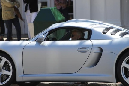 Ralph Lauren's Car:  Nothing But the Best for This Fashion Mogul
