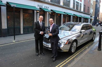 Theo Paphitis' Car:  Don't Dragons Usually Horde Gold?