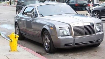 Queen Latifah's Car
