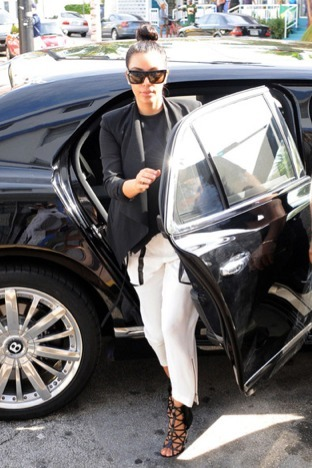 Kim Kardashian's Car:  The Rolls-Royce Isn't Available?  I'll Take My Bentley, Then