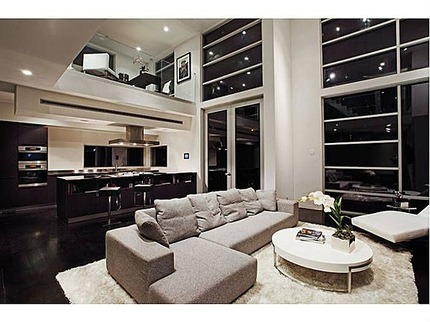 Chris Brown Living Room