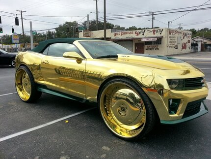 The Most Blinged Out Car Of All Time