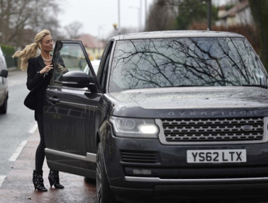 Alex Gerrard's Car