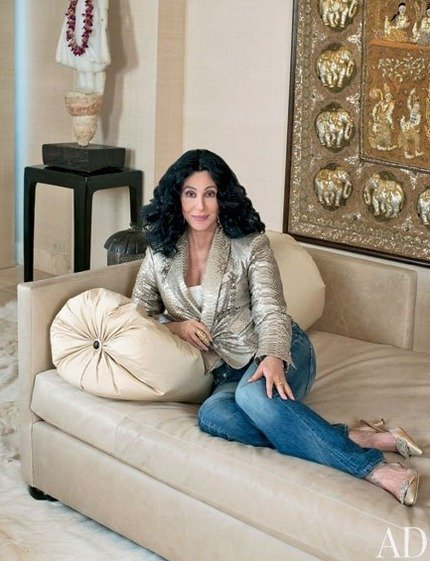 Cher's House:  Do You Believe?  Cher's Zen-Like Abode in Los Angeles Could Be Yours