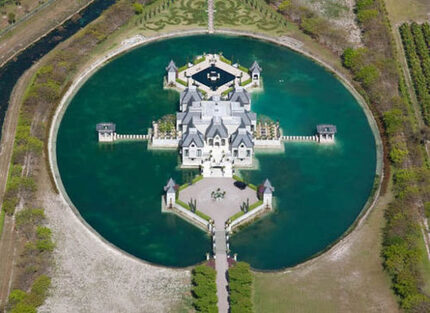 Check Out Some Pics Of An Impressive Water Fortress In Miami