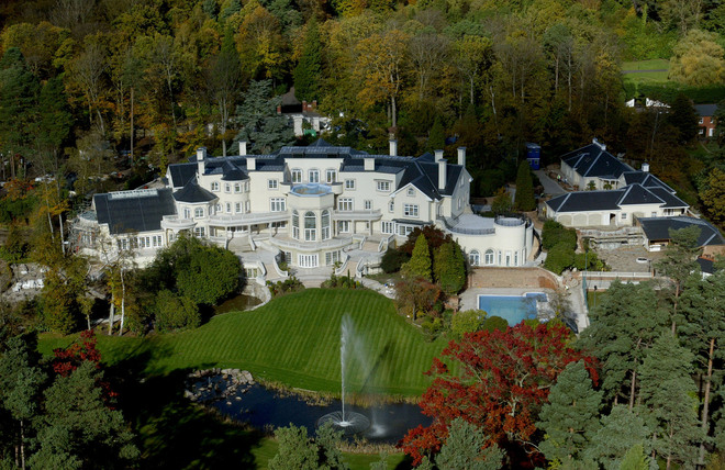 Most Expensive House In The World 2014 luxury mansions & celebrity homes: updown court - $55 million