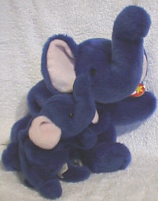 Peanut the Royal Blue Elephant
