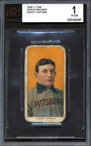 Honus Wagner: 1909-1911 - $2.8 Million
