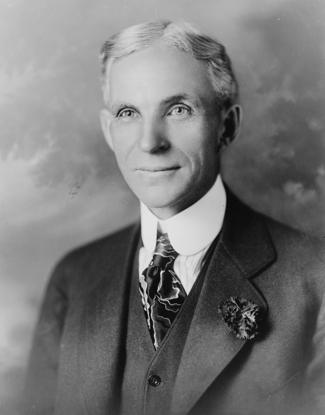 #9 Henry Ford - Net Worth $199 Billion
