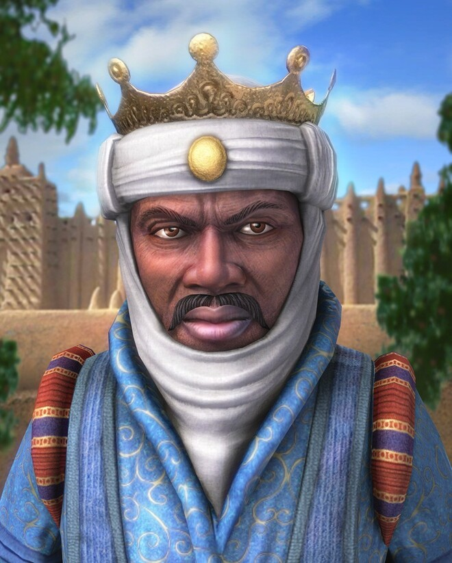 #1 Mansa Musa - Net Worth $400 Billion