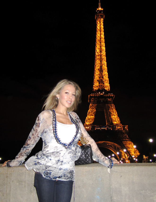 Lisa Hochstein in Paris