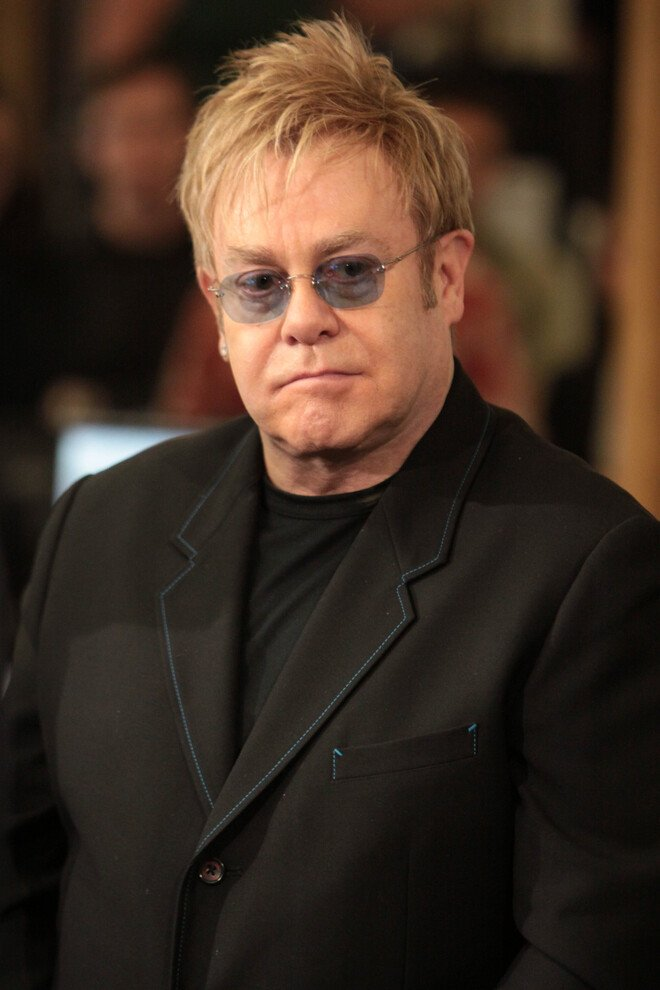 #13 Elton John - Net Worth $370 Million