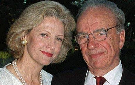 Rupert Murdoch and Anna Murdoch's Divorce Settlement