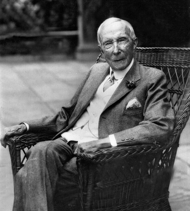 #3 John D. Rockefeller - Net Worth $340 Billion