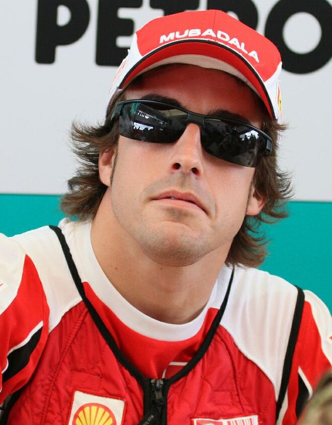 #1 FERNANDO ALONSO - SALARY $39.98 MILLION