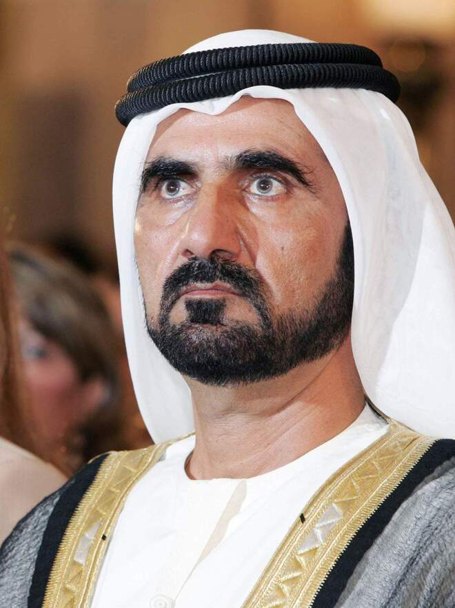 #5 - Prime Minister of Dubai - $4 Billion