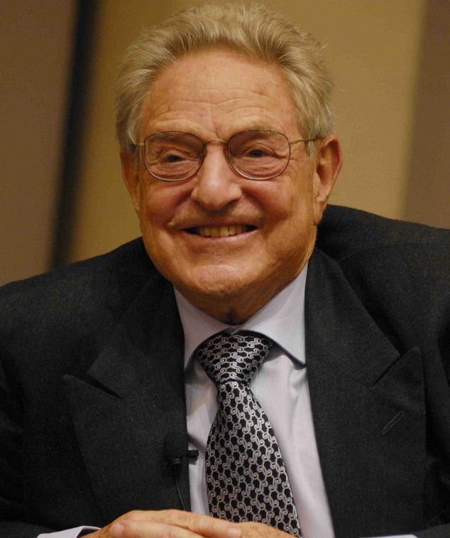 #1 George Soros Net worth $22 Billion