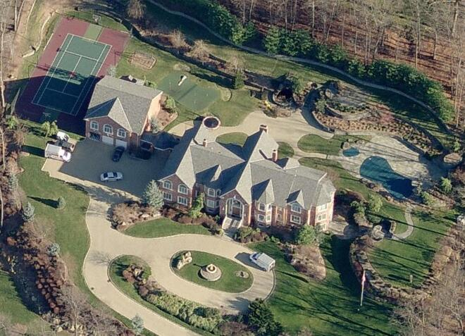 Diddy's House in New Jersey