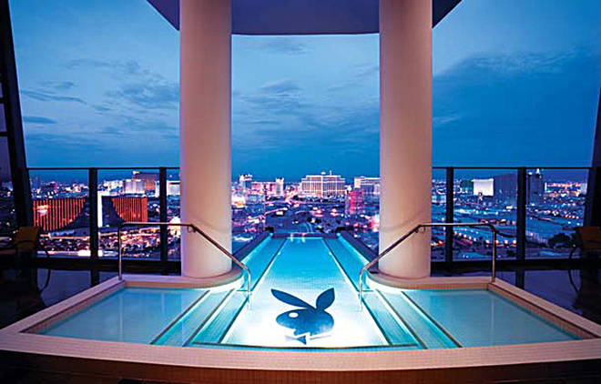 Hugh Hefner Sky Villa at Palms Casino Resort in Las Vegas