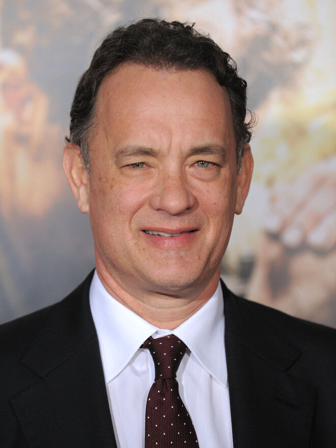 #12 Tom Hanks - Net Worth $350 Million