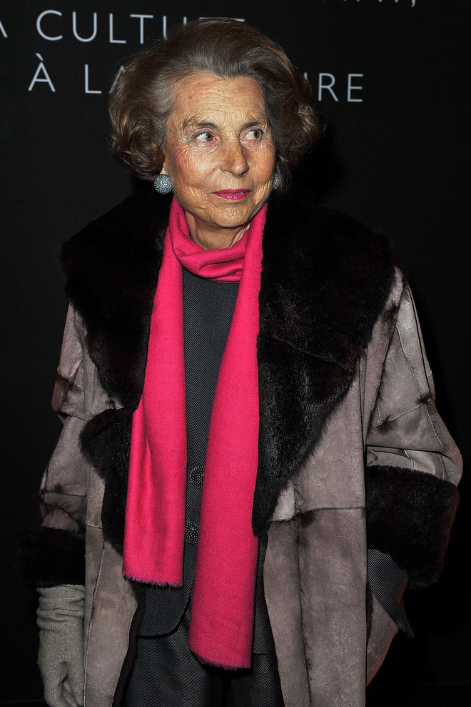 #16 Liliane Bettencourt - Net Worth $24.4 Billion