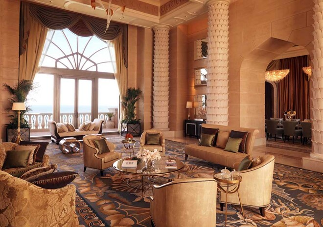 The Bridge Suite at The Atlantis in the Bahamas