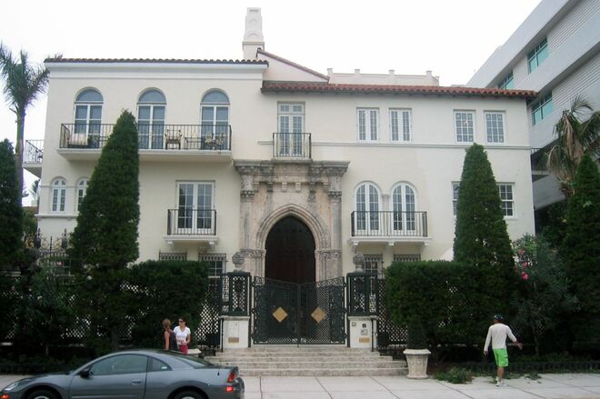 Gianni Versace's House from the Street