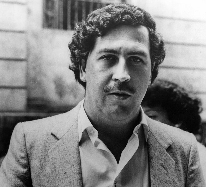 #1 Pablo Escobar - Net Worth $30 Billion
