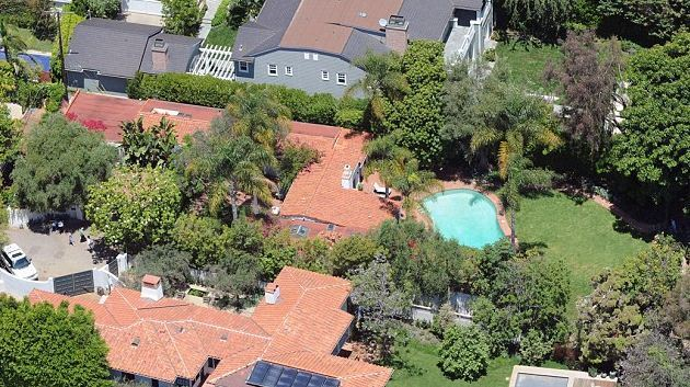Marilyn Monroe's House From Above
