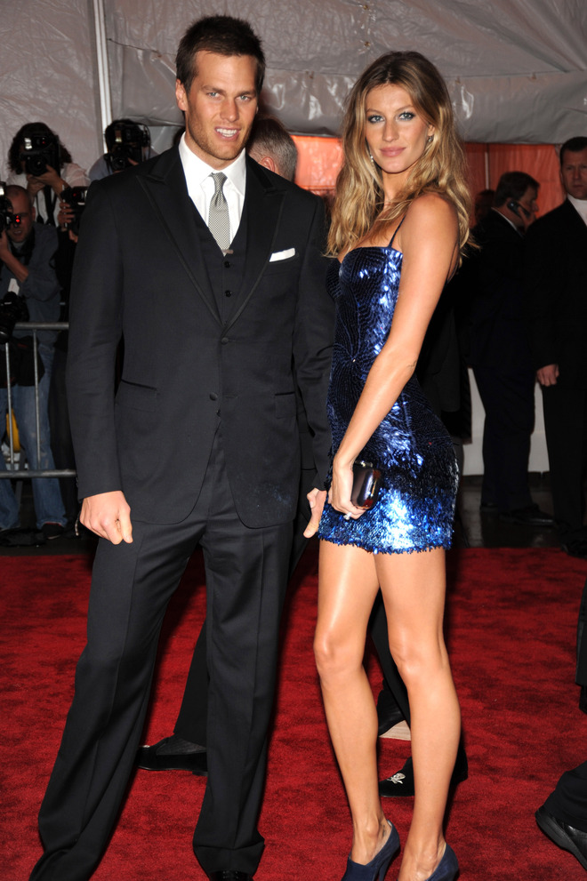 #3 - Tom Brady and Gisele Bundchen - Net Worth $350 Million