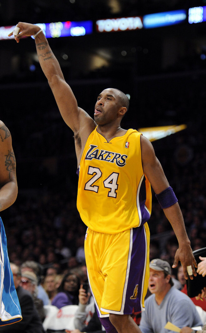 #1: Kobe Bryant - Salary $25.2 Million