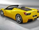 New Ferrari 458 Spider Retractable Hardtop