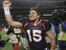 Tim Tebow Got a $250,000 Bonus for Beating the Steelers