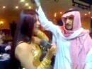 Saudi Billionaire Throws Money On Woman Trying to Sing