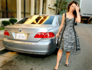Kristin Davis' Car:  She's Not Just Fashion Conscious