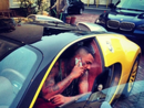The Game's Car:  New Show, New Wife, New Car