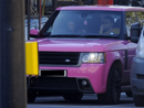 Katie Price's Car: Big and Pink... Enough Said